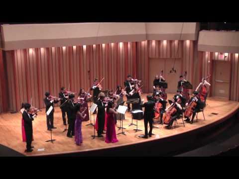 VIVALDI's Concerto in G Major - Colburn Chamber Orchestra with Maxim Eshkenazy