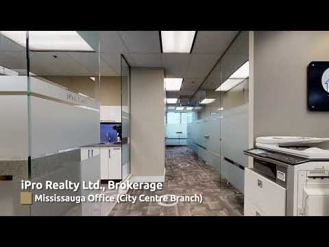 Mississauga Office City Centre Branch 3D Walk Through Video