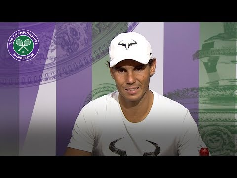 Rafael Nadal 'has nothing to complain about' | Wimbledon 2018