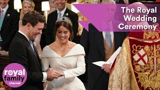 Royal Wedding Ceremony: Princess Eugenie and Jack Brooksbank tie the knot at Windsor Castle