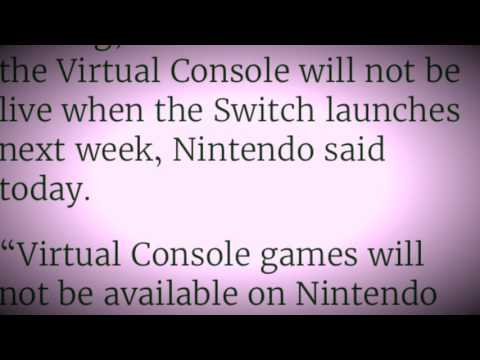 Nintendo Switch No Virtual Console at Launch News