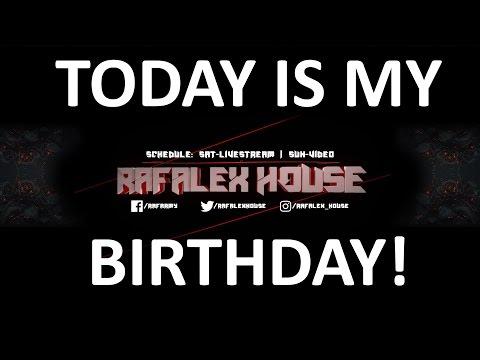 IT'S MY BIRTHDAY!!! (New intro + Livestream info)