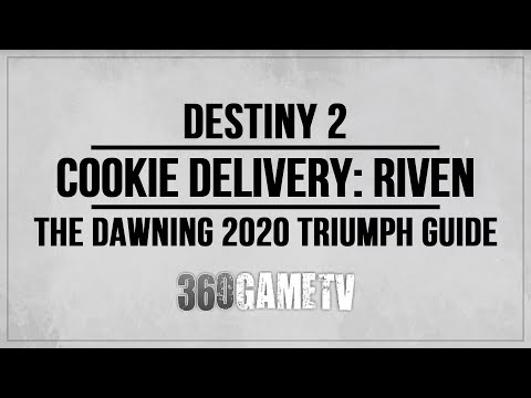 Destiny 2 How to deliver Cookies to Riven - Cookie Delivery Riven Triumph Guide - Dawning 2020
