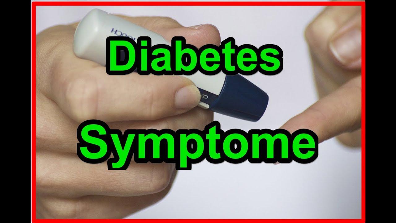 Diabetes Symptome | Erste Anzeichen der Zuckerkrankheit