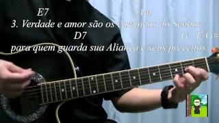 salmo 24 senhor meu deus a vs elevo a minha alma