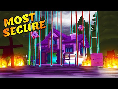 MOST SECURE HAUNTED HOUSE | Minecraft Little Kelly Plays