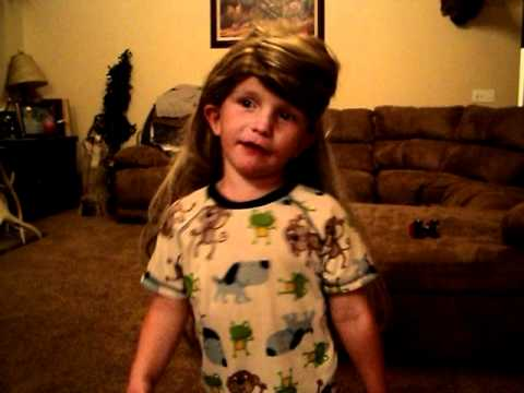 little boy singing ballerina long