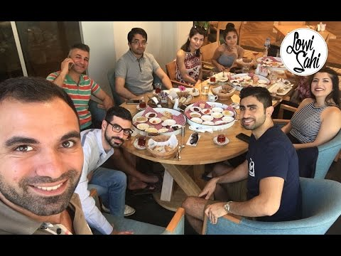 ريوق في دبي A breakfast in Dubai #لؤي_ساهي