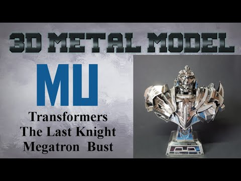 MU Build - Transformers The Last Knight Megatron Bust