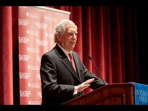 "Mario Vargas Llosa, ""The Time of the Hero,"" Lecture 1 of 4, 04.24.17"