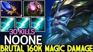 NOONE [Zeus] Imba God is Back Brutal 160K Magic Damage 7.22 Dota 2