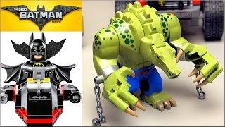 LEGO Batman Movie 70907 Хвостовоз Убийцы Крока обзор набора