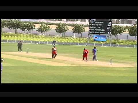 Lionel Cann Boundaries, ICC Cricket vs Namibia, April 2011