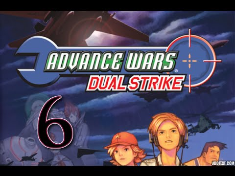 "Part 6: Let's Play Advance Wars Dual Strike, Hard Campaign - ""Kanbei's Error?"""
