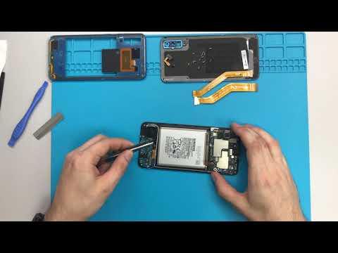 Разборка Samsung А50 SM-A505FN / Samsung Galaxy А50 Teardown