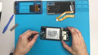 Розбирання Samsung А50 см-A505FN / Samsung Galaxy А50 демонтажу