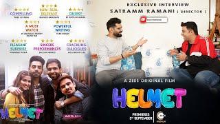 """Exclusive interview- Satram Ramani, Director """"Helmet"""" movie"""