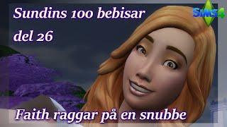 Sims 4: 100 Bebisar-utmaningen | Del 26 - Faith Raggar På En Snubbe