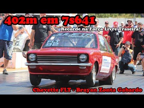 Chevette FLT - 402m em 7.6s!