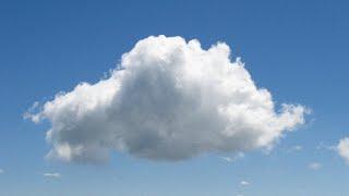 Combien pèse un nuage ?