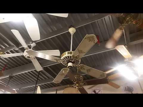 Fanimation Museum Fan Testing - Ceiling Fan Updates Part 3 Fall 2017