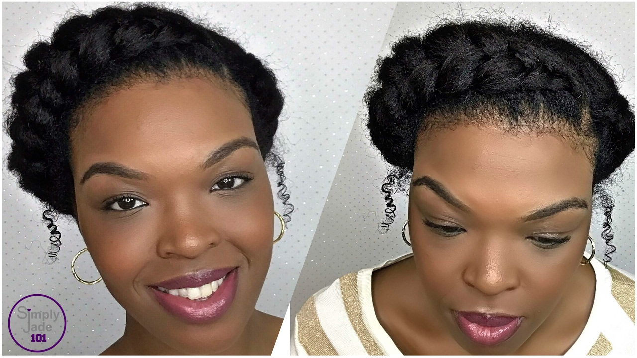 Protective Braid Styles For Transitioning Hair How To Protective Style Goddess Braid  Naturaltransitioning .