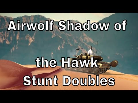 Airwolf Shadow of the Hawk Stunt Doubles