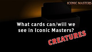 iconic masters what creatures canwill we see?