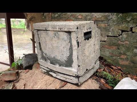 Restoration SONY TV produced in 1990 | Antique television restore | Restore old color TV