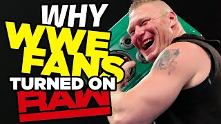 Why WWE Fans Turned On Raw Last Night