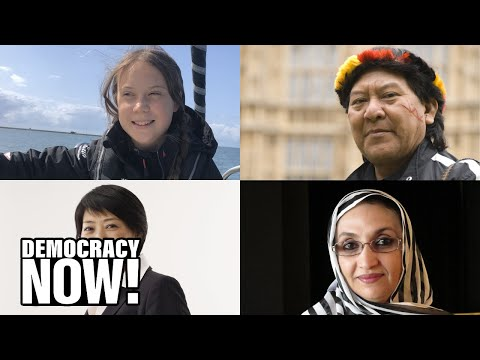 """Alternative Nobel Prize:"" Right Livelihood Award Celebrates 40 Years Honoring Grassroots Activists"