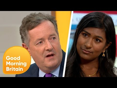 Piers Gets Into a Fiery Debate Over Trump's UK Visit   Good Morning Britain
