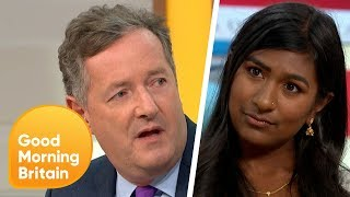 Piers Gets Into a Fiery Debate Over Trump\'s UK Visit | Good Morning Britain