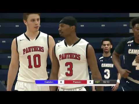 Regional XIX Men's Basketball Championship Passaic vs Camden