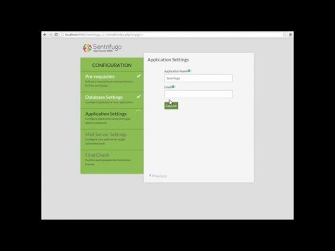 How to Install Sentrifugo Open Source HRMS Software - YouTube