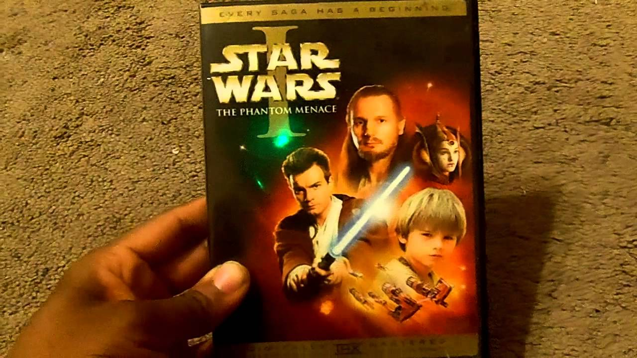 star wars the prequel trilogy dvd review youtube. Black Bedroom Furniture Sets. Home Design Ideas