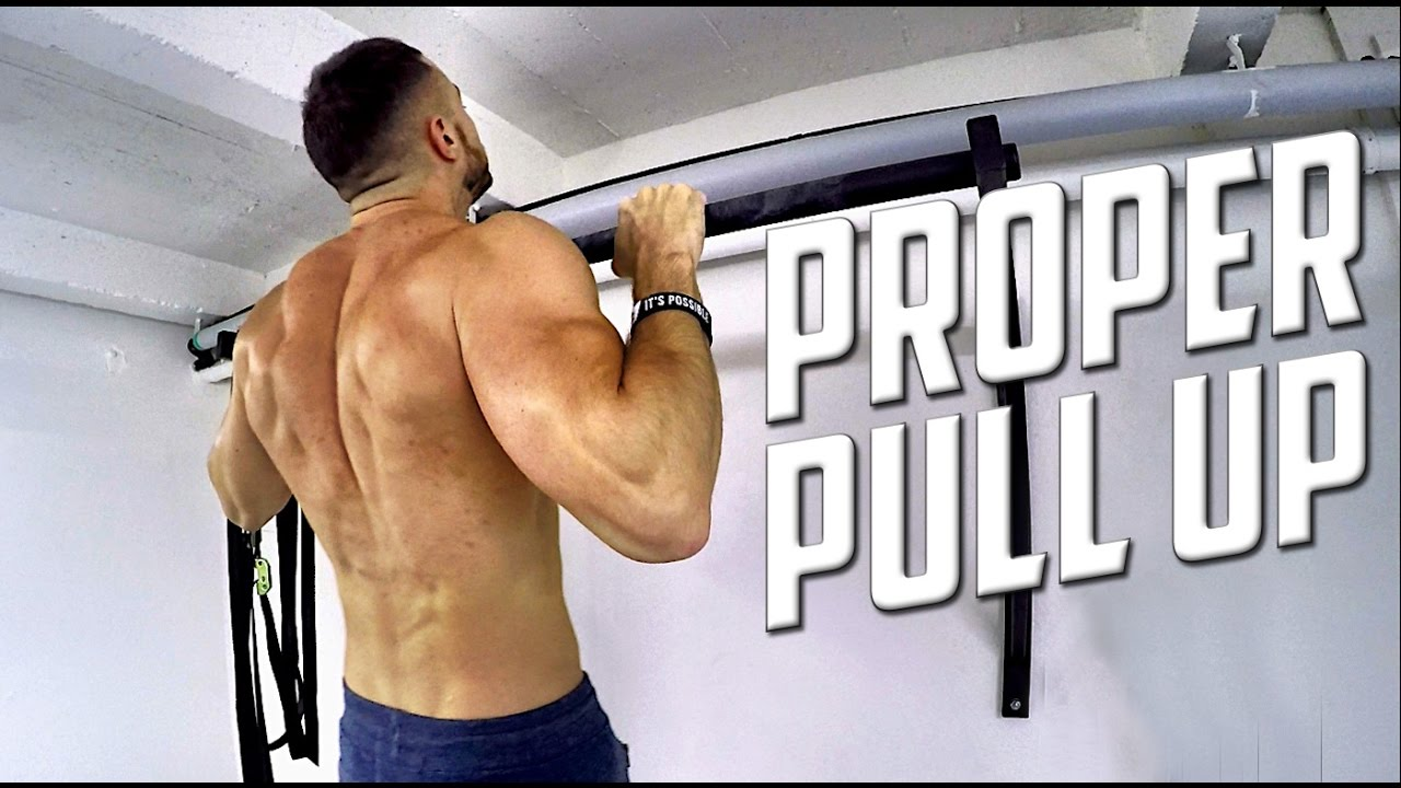 Proper Pull Up Form & How to do MORE REPS ! HD - YouTube