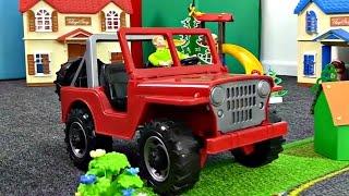 Клип Джип Бип Бип. Песня про машину. Видео для детей.