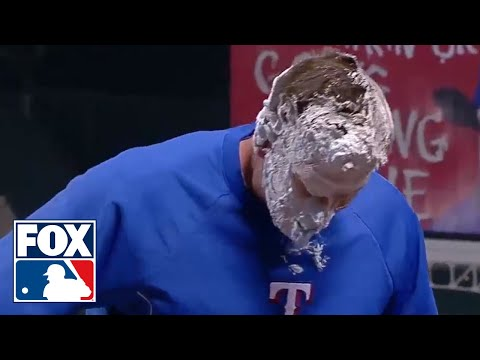 MLB Gatorade Showers and Pies in the Face 2013