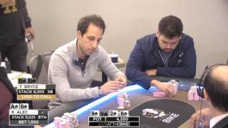 Alec Torelli $15,000 Button vs Blind Battle with Bryce! ♠ Hand of the Night ♠ Live at the Bike!