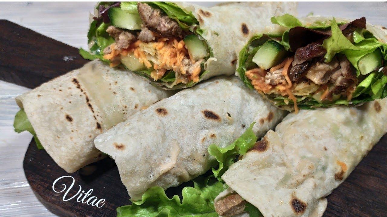 Домашняя ШАУРМА в лаваше.Как приготовить сочную и вкусную ...