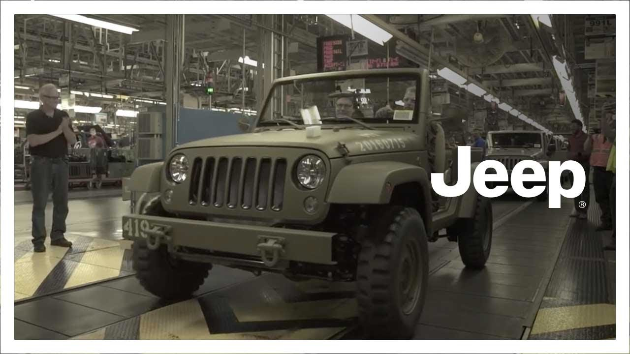 salute wrangler anniversary watch concept build youtube jeep factory