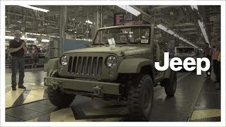 Jeep® 75th Anniversary | 75th Salute concept Wrangler | Factory Build