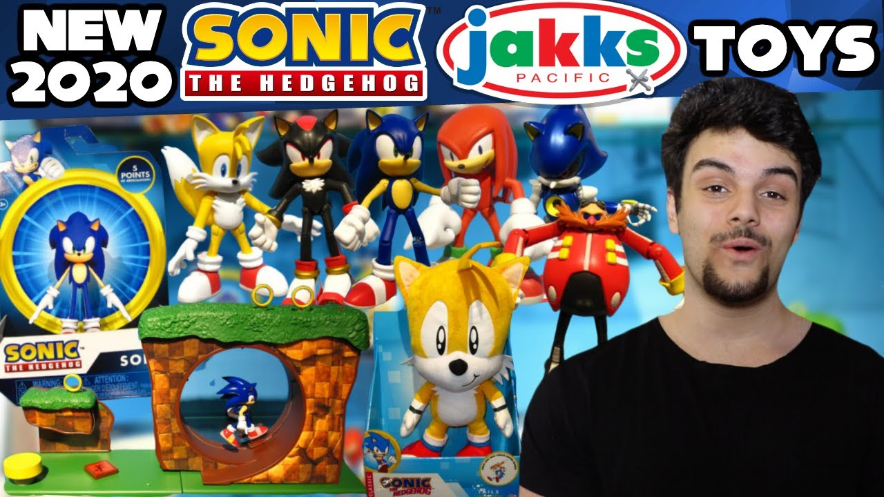 New Sonic The Hedgehog Jakks Pacific Toys Revealed At Nuremberg
