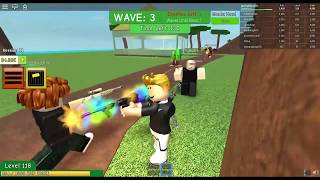 roblox playing zombie attack part-1