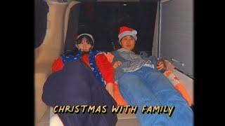 캠핑카 가족 여행 겨울 바다 한국 갬성 캠코더 감성 편…