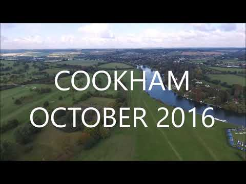 Cookham from above with DJI Phantom