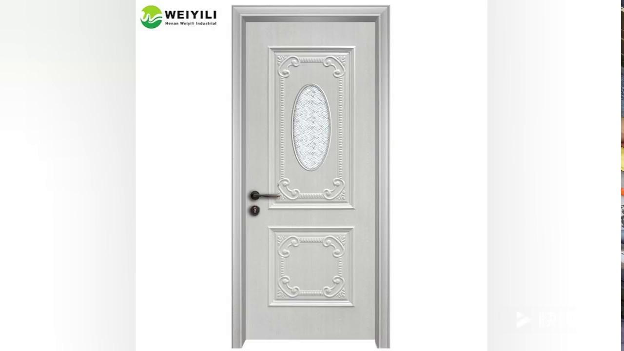 Waterproof More Durable Wpc Bathroom Door Youtube