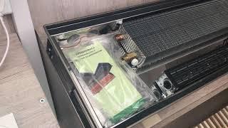 Кировоградский конвектор КПТ. Обзор внутрипольного конвектора с вентилятором