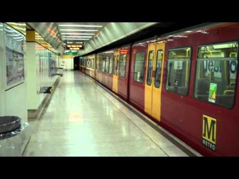 Tyne and Wear metro : Jesmond station